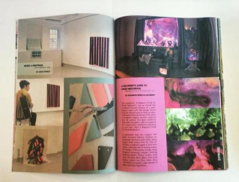 Sample page featuring Caro Streck & Rhiannon Rebecca Salisbury